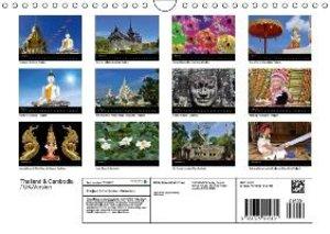 Thailand & Cambodia / UK Version (Wall Calendar 2015 DIN A4 Land