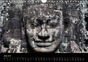 Thailand & Cambodia / UK Version (Wall Calendar 2015 DIN A4 Land