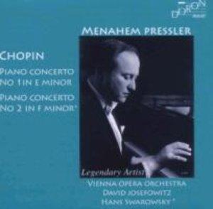 Menahem Pressler spielt Chopin