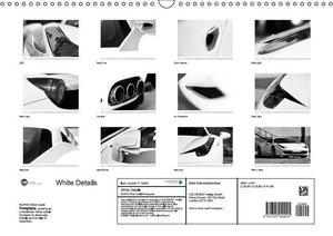 White Details (Wall Calendar 2015 DIN A3 Landscape)