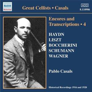 Encores+Transcriptions Vol.4