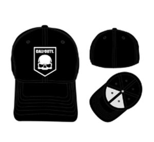 Call of Duty - Flex Fit Cap Logo - Schwarz