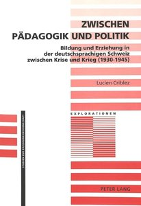 Zwischen Pädagogik und Politik