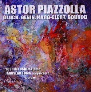 Piazzolla u.a.: Flöte und Cembalo/Orgel
