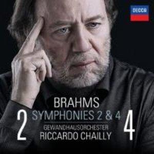 Brahms: Sinfonien 2 & 4