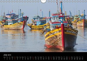 Vietnam (UK-Version) (Wall Calendar 2015 DIN A4 Landscape)