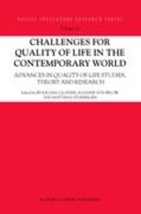 Challenges for Quality of Life in the Contemporary World
