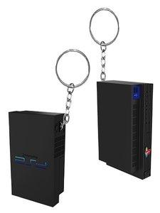 PlayStation (PS2) Console Schlüsselanhänger