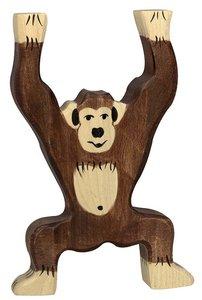 Schimpanse, stehend