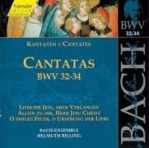 Kantaten BWV 32-34
