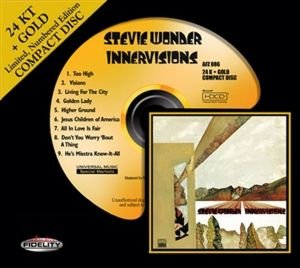 Wonder, S: Innervisions-24k Gold-CD