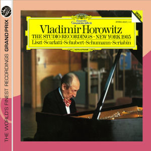 Vladimir Horowitz:The Studio Recordings,Ny 1985