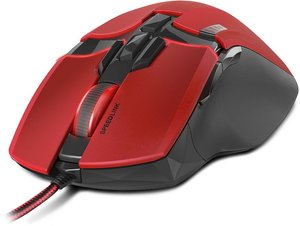 KUDOS Z-9 Gaming Mouse, red