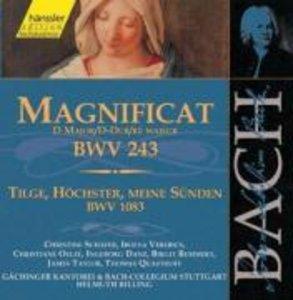 Magnificat D-Dur BWV 243+10