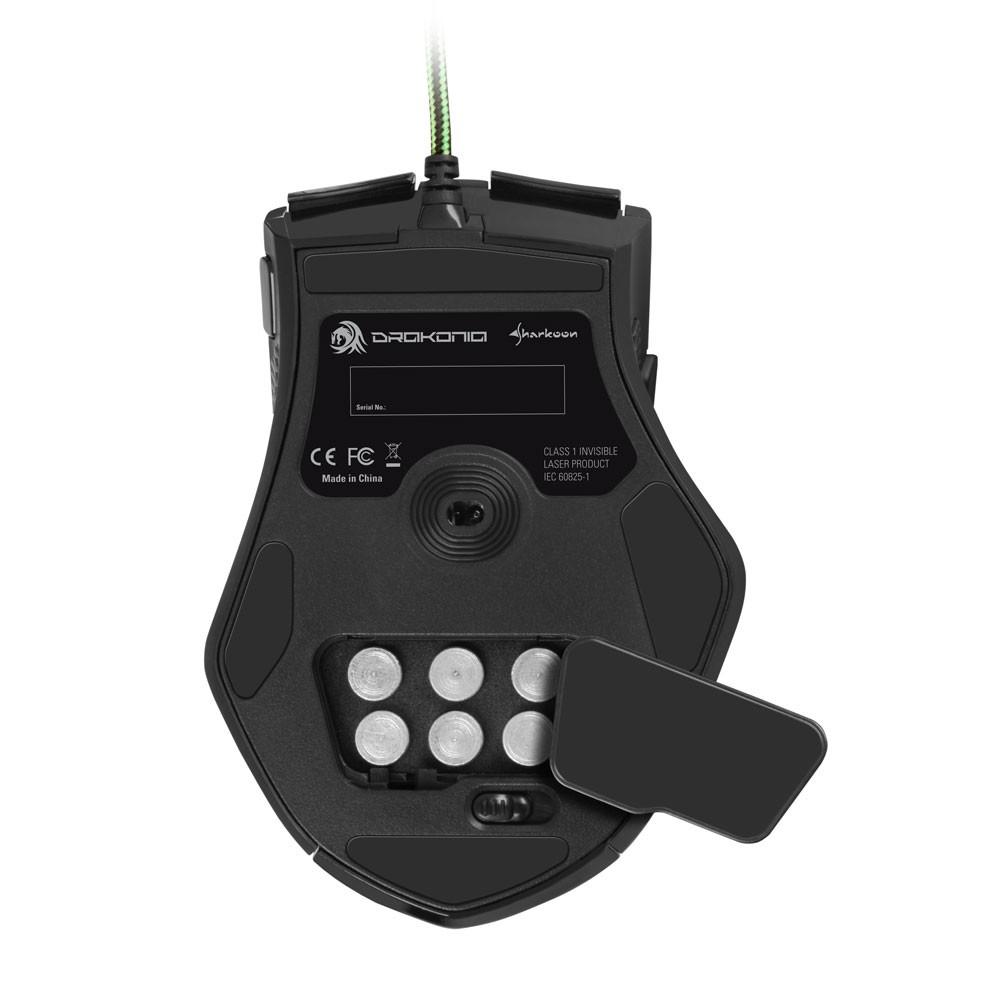 Sharkoon Drakonia - Gaming Mouse - Lasermaus - zum Schließen ins Bild klicken