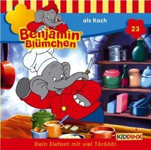 Benjamin Blümchen 023 als Koch