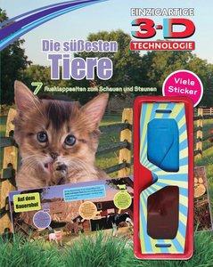 Tiere 3-D Sticker