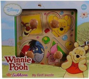 Eichhorn 100003331 - Winnie Pooh: Formen Puzzle