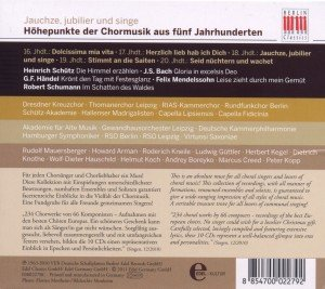 Choredition-Jauchze,Jubilier Und Singe (Box-Set)