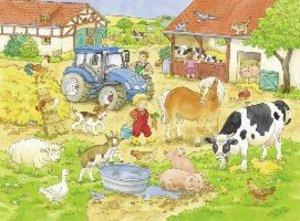 Meine Bauernhoftiere. My first Puzzles - Big format. 16 Teile