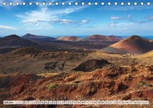 LANZAROTE Vulkanische Landschaften (Tischkalender 2016 DIN A5 qu