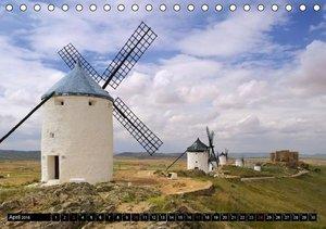 Burgen in Spanien (Tischkalender 2016 DIN A5 quer)