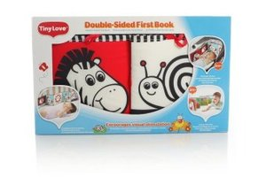 Jumbo Spiele T00016 - Tiny Love: Double-Sided First Book