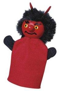 Kersa Fipu 40220 - Handpuppen Teufel Fipu, 10 cm