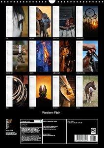 Western Flair (Wandkalender 2016 DIN A3 hoch)