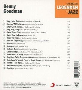 DIE ZEIT-Edition-Legenden des Jazz: Benny Goodman