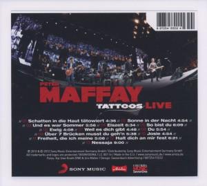 Tattoos Live (Alben für die Ewigkeit) - zum Schließen ins Bild klicken