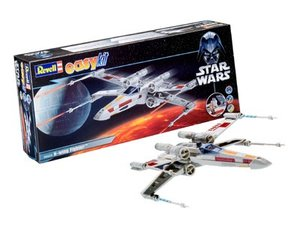 Revell 06656 - STAR WARS: X-wing Fighter Luke Skywalker, easykit