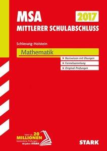 Mittlerer Schulabschluss Schleswig-Holstein 2017 - Mathematik