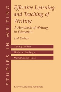 Effective Learning and Teaching of Writing