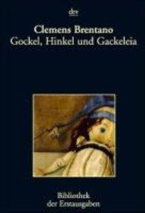 Brentano, C: Gockel, Hinkel.
