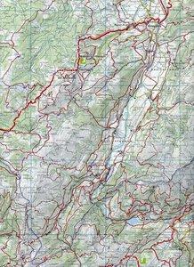 KuF Schweiz Wanderkarte 16 Gruyère - Moléson - La Broye -Pays d'