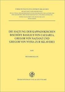 Die Haltung der kappadokischen Bischöfe Basilius von Caesarea, G