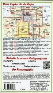 Südliches Berlin - Teltow, Ludwigsfelde und Umgebung 1 : 35 000.