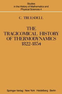 The Tragicomical History of Thermodynamics, 1822-1854