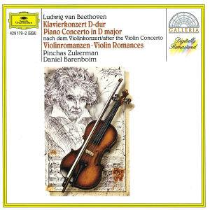Klavierkonzert D-Dur(Violine)Violinromanzen 1,2