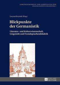 Blickpunkte der Germanistik