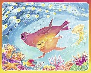 Meereswelt. Aquarelle-Malen Maxi