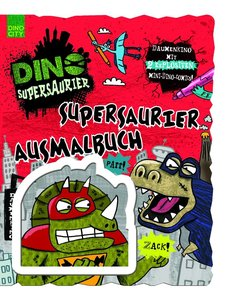 Supersaurier Ausmalbuch