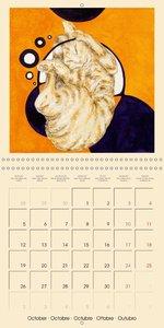 Surrealistic cat dreams (Wall Calendar 2015 300 × 300 mm Square)