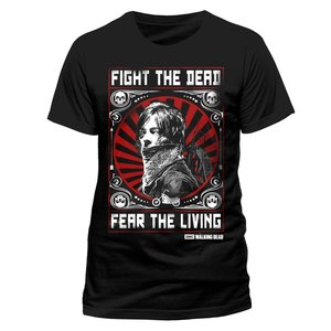 Fight The Dead (T-Shirt,Schwarz,Größe M)