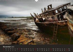 wrecks 2015 / UK-Version (Wall Calendar 2015 DIN A3 Landscape)
