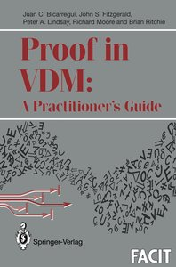 Proof in VDM: A Practitioner's Guide