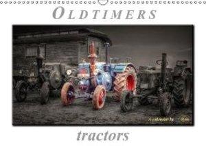 Oldtimer - tractors (Wall Calendar 2015 DIN A3 Landscape)