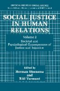 Social Justice in Human Relations Volume 2