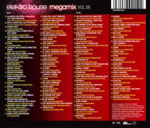 Elektro House Megamix Vol.08